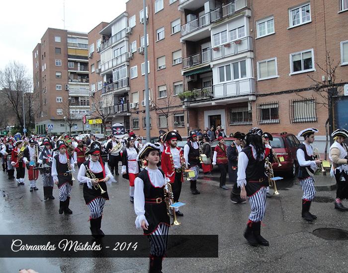 carnavales banda majorettes mostoles