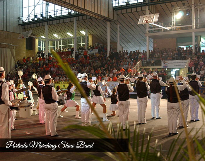 portada marching show band