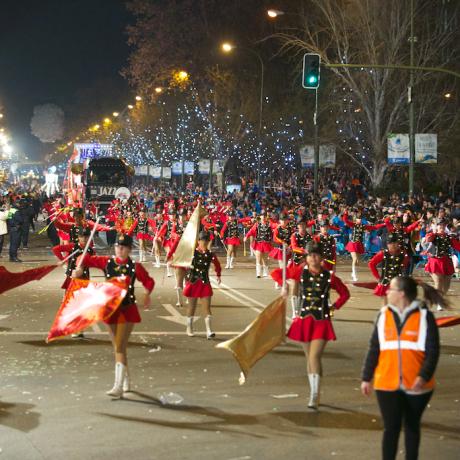 Cabalgata de Reyes Madrid 2015