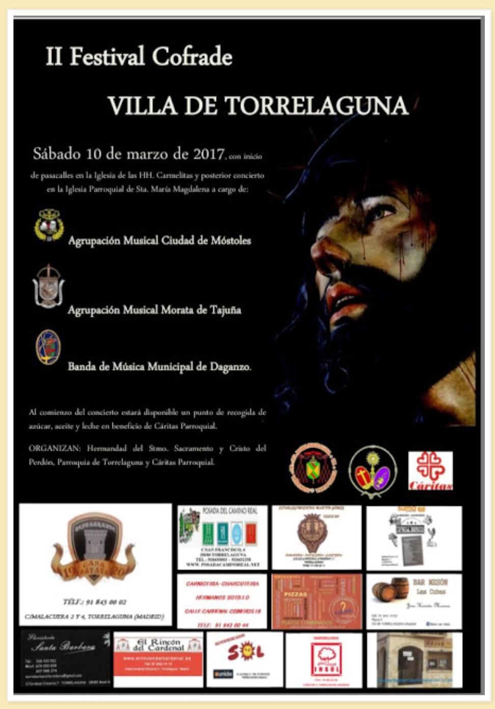 II FESTIVAL COFRADE VILLA DE TORRELAGUNA