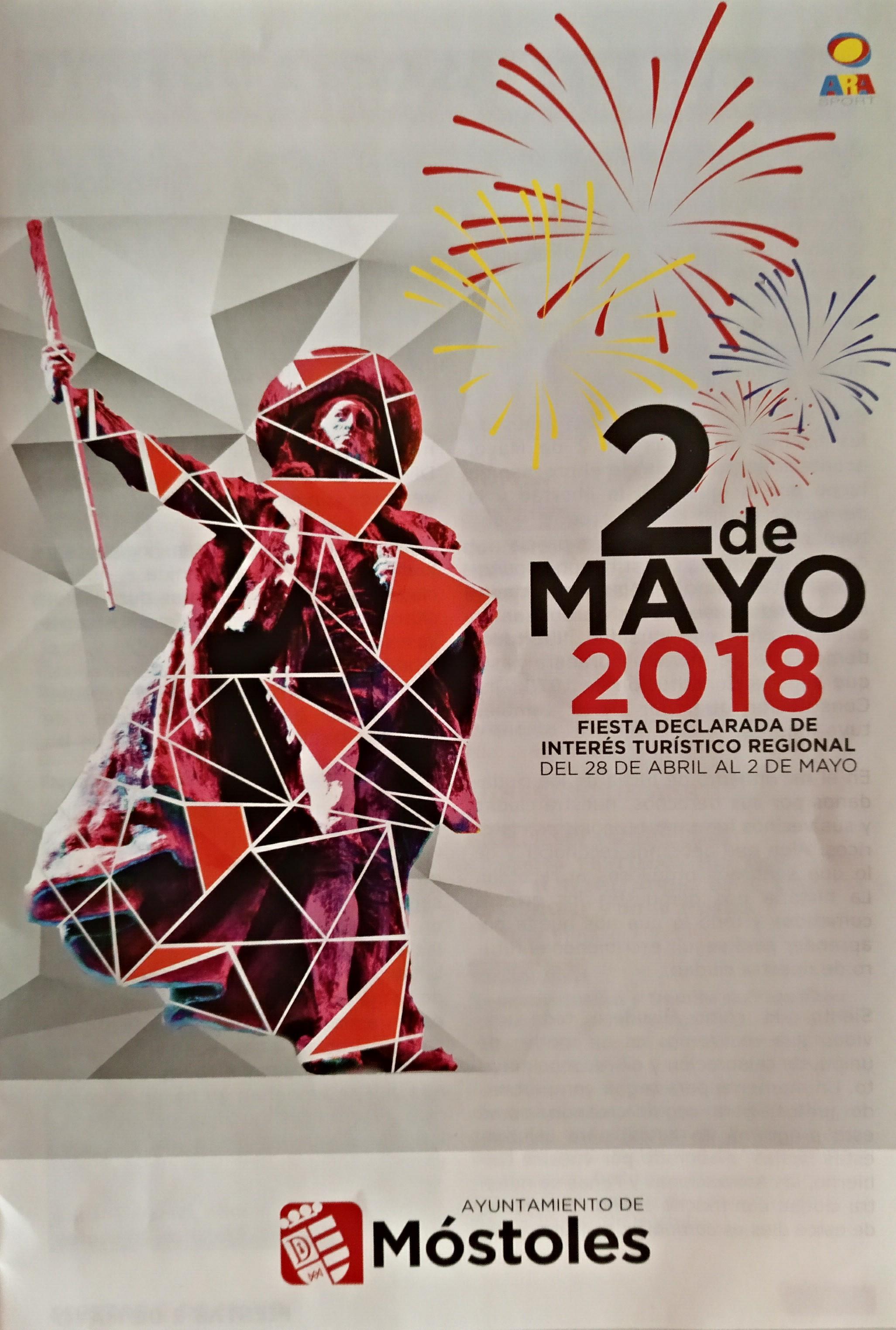 FIESTAS DEL 2 DE MAYO, MOSTOLES 2018